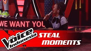 Momen Steal Paling Sed.. Eh Lucu! | STEAL MOMENTS | The Voice Indonesia GTV 2018