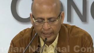Highlights- AICC Press Briefing By Abhishek Manu Singhvi on the Unprovoked Attacks on J&K students