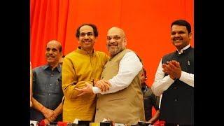 लोकसभा में भाजपा-शिवसेना का गठबंधन महाराष्ट्र में 48 सीटों में से 45 सीटों पर विजय प्राप्त करेगा