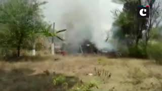 Two aircraft of Surya Kiran Aerobatics Team crashed today at Yelahanka airbase in Bengaluru