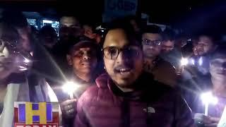 आंतकी हमले के खिलाफ पूर्व सैनिक लिक व महिला विंग द्वारा छोटी कासी मंडी में आक्रोश रैली का आयोजन