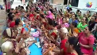 શહીદોને શ્રદ્ધાંજલિ આપવા સુરતના મહિલા મંડળે રામધુનનું આયોજન કર્યું