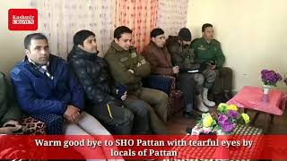 Warm good bye to SHO Pattan with tearful eyes by locals of Pattan...