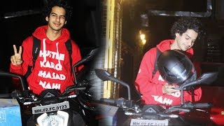 Ishaan Khatter Snapped Post Workout Session In Juhu