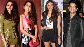 Bollywood Celebs At Namrata Purohit Event Flow | Sara Ali Khan, Sushant Singh Rajput, Daisy Shah