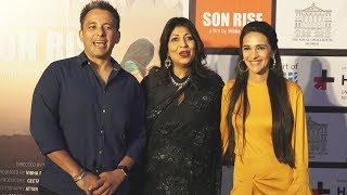 Bollywood Celebs At SON RISE Movie Premiere | Tara Sharma