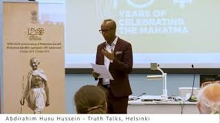 Satya Vaarta -  Finland (Abdirahim Husu Hussein)