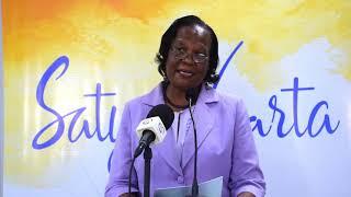 Satya Vaarta: Seychelles(Mrs. Marie Nella Azemia-  Vice Chairman, CEPS)