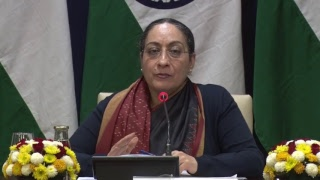 Media Briefing by Secretary (East) on upcoming visit of PM to Republic of Korea (February 14, 2019)