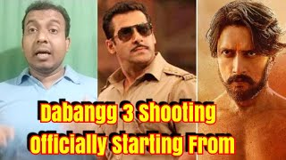 Dabangg 3 Shooting Officially Starting From April 2019
