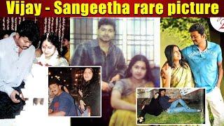 Vijay Sangeetha rare picture around the web