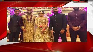 Cricketer Nitish Rana ties the knot with girlfriend Saachi Marwah