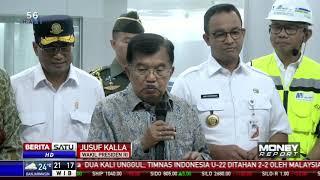 10 Tahun ke Depan, JK Minta Jakarta Punya 200 Km Jalur MRT