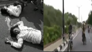 Sadak Hadse Mein Hui 2 Naujawano Ki Maut At Necklace Road Hyderabad | @ SACH NEWS |