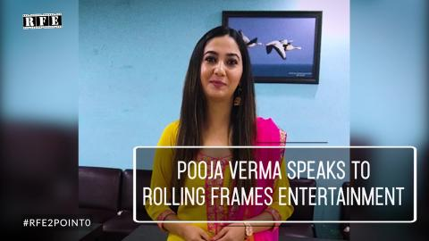 Watch Pooja Verma in Chandigarh speaks to RFE Viewers about her upcoming film '15 lakh kadon aauga' Video
