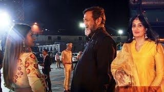 Megha Dhade Sai Lokur & Mahesh Manjrekar At Lokmat Awards 2019