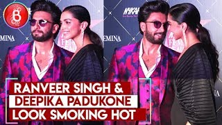 Ranveer Singh & Deepika Padukone Look Smoking Hot As They Walk In For Femina Awards