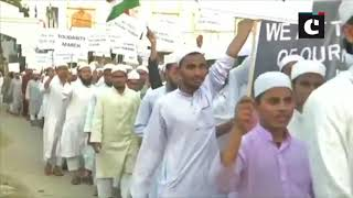 Madarsas in Hyderabad take out solidarity march in protest against Pulwama attack
