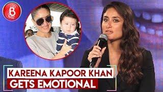 Kareena Kapoor Khan Gets EMOTIONAL Talking About Taimur Ali Khan At Swasth Immunised India Campaign
