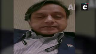 'Not playing Pakistan would be worse than surrender' says Shashi Tharoor on World Cup clash