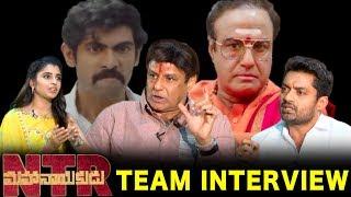 Nandamuri Balakrishna & Nandamuri Kalyan Ram Special Interview - #NTRMahanayakudu