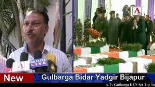 Tanveer Ahmed Sardgi Corporator Ne Pulwama Hamle Mein Shaheed Hue Shipahion Ko Khiraj Pesh Kiya