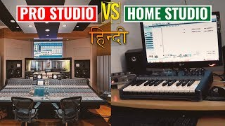 [HINDI] Can Your Voice Sound Better In An Expensive Studio Mic | Studio Vs Home Vocal Recording