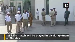 Ind vs Aus: Virat Kohli, Rohit Sharma arrives in Visakhapatnam ahead of 1st T20s