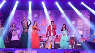#बनारस Live Stage Show - Pawan Singh का जबरदस्त Stage Show - मिले खातिर आ जइहा बलमुआ के गाँव में
