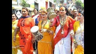 Prayagraj Ardh Kumbh Mela 2019 :  किन्नर अखाड़े की पेशवाई | Shahi Snan | Naga Sadhu IN Kumbh