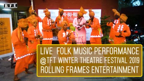Live Folk Music Performance 3 | TFT Winter Theatre festival 2019 | RFE