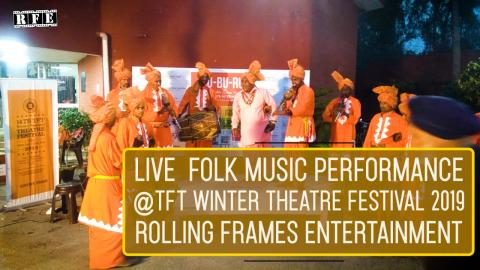 Live Folk Music Performance 4 | TFT Winter Theatre festival 2019 | RFE