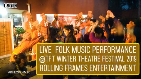 Live Folk Music Performance 5 | TFT Winter Theatre festival 2019 | RFE