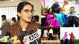 Taapsee Pannu Talks About Her Upcoming Film Saand Ki Aankh'