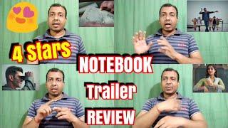 NOTEBOOK Trailer Detailed Review l Zaheero Iqbal And Pranutan Bahl Shines