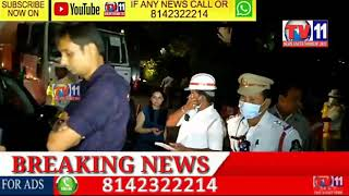 DRUNK AND DRIVE  AT JUBILEEHILLS AREA CELEBRITY CAUGHT IN DRUNK N DRIVE