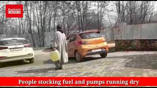 Bandipora also feeling the heat of crisis caused due to unknown reasons in kashmir valley