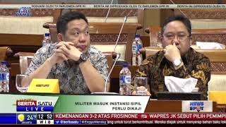 Pemerintah Diminta Kaji Ulang Perwira Aktif TNI Masuk Pemerintahan