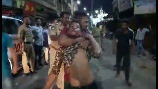 Whitner Ka Nasha Aur Hungama At Nampally Dargah Area | Uncontrolled By Police |