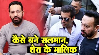 Salman Khans Bodyguard Shera REAL LIFE Story | From Gurmeet Singh To Shera