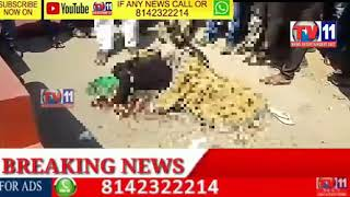 ROAD ACCIDENT  TANKER HIT BIKE LADY  SPOT DIED UNDER DUNDIGAL POLICE STATION LIMIT