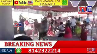 MARRIAGE PARTY FIGHT FOR MUTTON  IN FUNCTION AT KOTHAGUDAM
