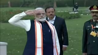 PM Shri Narendra Modi dedicates 'National War Memorial' to the nation in New Delhi