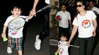 Kareena Kapoor With CUTE Taimur Ali Khan Spotted At I Think Fitness Bandra