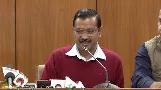 Delhi CM Arvind Kejriwal Briefs Media on Delhi Govt's 5h Annual Budget