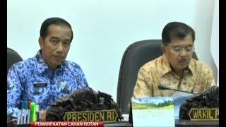 Pimpin Ratas, Jokowi Bahas Konflik Lahan dan HGU di Hutan