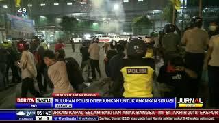 Penumpang di Halte Transjakarta Lari Ketakutan karena Tawuran di Menteng