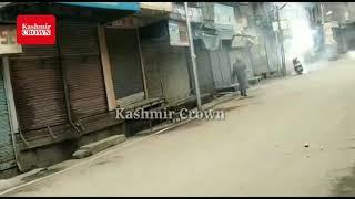 *NIA RAIDS: Massive Clashes erupted at Maisuma*Soon after the NIA raid on the JKLF chief Muhammad
