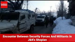 Encounter Between Security Forces And Militants In J&K's Shopian