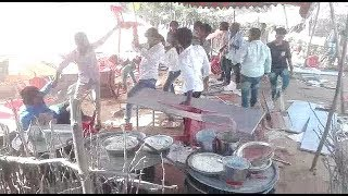 Fight For Mutton Curry In Function | 2 Groups Clash In A Function At Kothagudam.